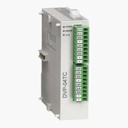PLC Thermocouple Module – DVP04TC-S