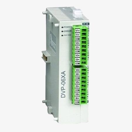 ماژول PLC DVP06XA-S2